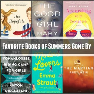 Novel Visits: Favorite Books fo Summers Gone By