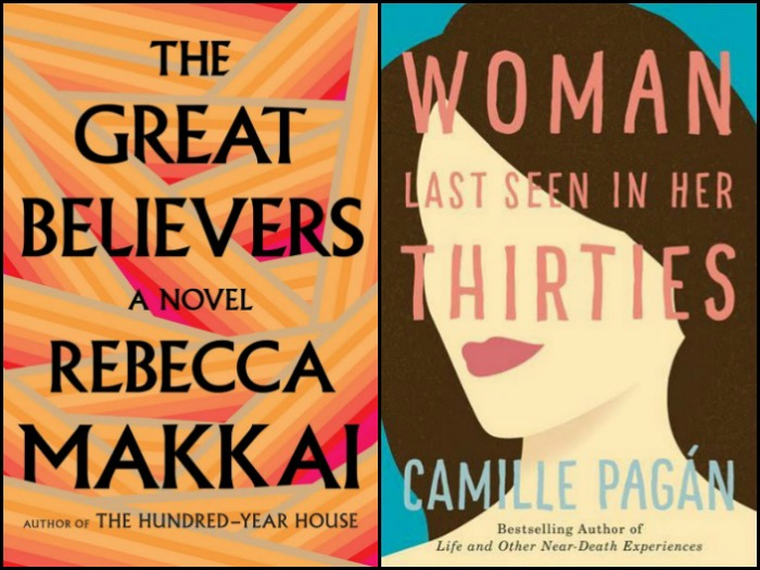 Novel Visits's My Week in Books: Last Week's Reads - The Great Believers by Rebecca Makkai and Woman Last Seen in Her Thirties by Camille Pagan