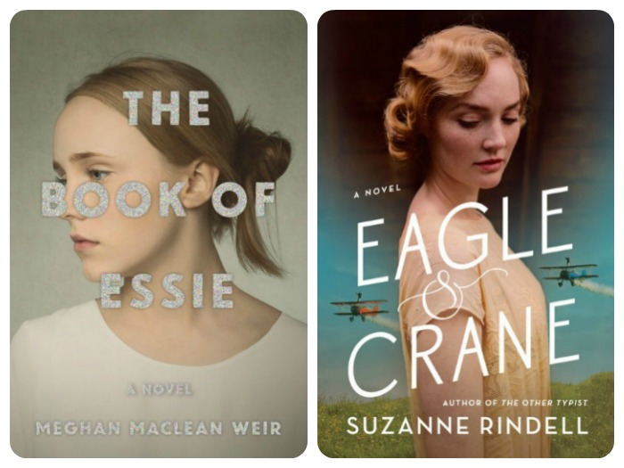 Novel Visits: My Week in Books for 6/25/18 Last Week's Reads - The Book of Essie by Meghan MacLean Weir and Eagle & Crane by Suzanne Rindell