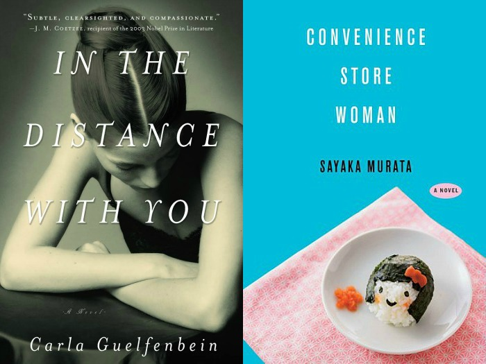 Novel Visits My Week in Books for 6/4/18: Last Week's Reads - In the Distance With You by Carla Guelfenbein and Convenience Store Woman by Sayaka Murata