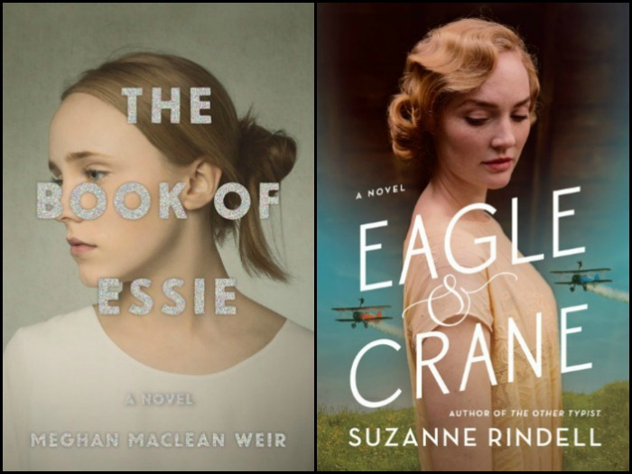 Novel Visits's My Week in Books: Likely to Read Next: The Book of Essie by Meghan MacLean Weir and Eagle and Crane by Suzanne Rindell