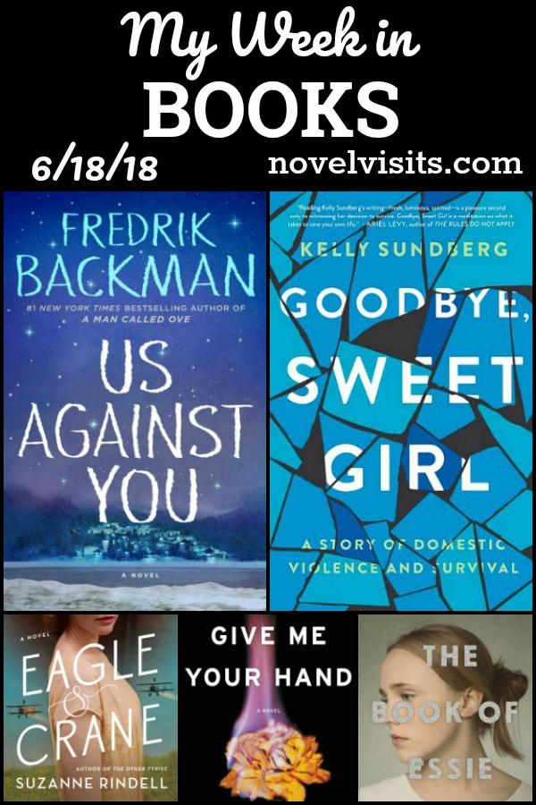 My Week in Books - All things books for Novel Visits: Those completed, what I'm reading now and a preview of books up next in the reading line up!