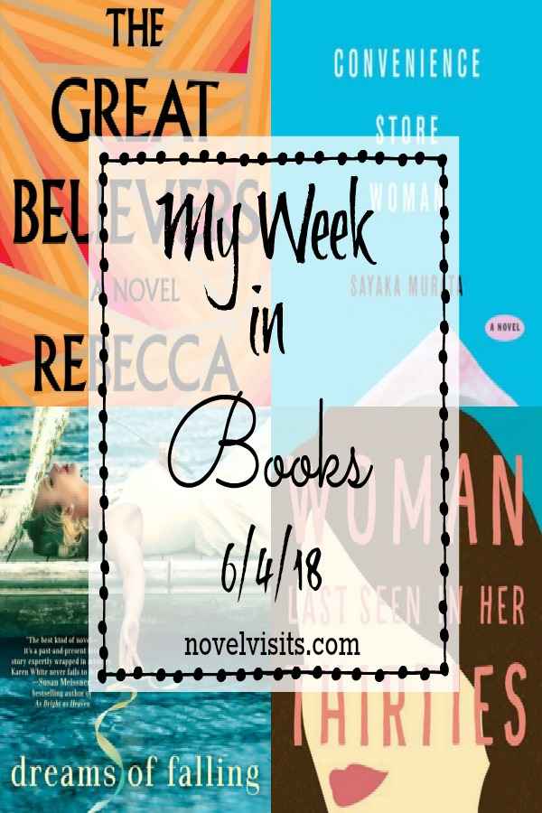 Novel Visits's weekly check in on all things books: those finished, A DNF or two, current reads, as well as what wonderful books might be up next.