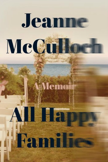 Novel Visits' My Week in Books for 8/20/18: Last Week's Read - All Happy Families by Jeanne McCulloch