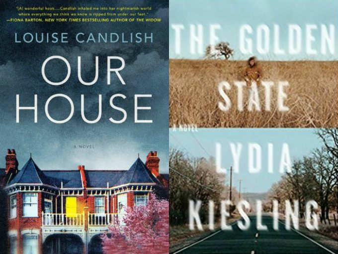 Novel Visits' My Week in Books for 8/20/18: Currently Reading - Our House by Louise Candlish and The Golden State by Lydia Kiesling
