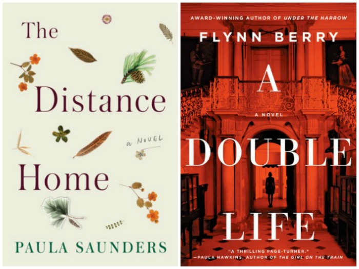 Novel Visits' My Week in Books for 8/6/18: Currently Reading - The Distance Home by Paula Saunders and A Double Life by Flynn Berry