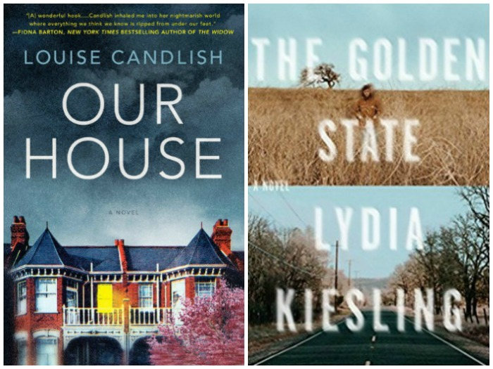 Novel Visits' My Week in Books for 8/27/18: Last Week's Reads - Our House by Louise Candlish and The Golden State by Lydia Kiesling