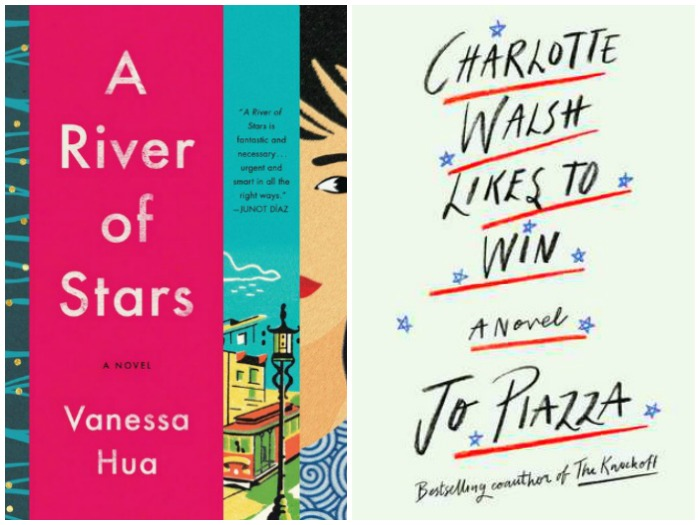 Novel Visits' My Week in Books for 8/6/18: Last Week's Reads - A River of Stars by Vanessa Hua and Charlotte Walsh Likes to Win by Jo Piazza