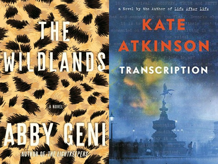 Novel Visits' My Week in Books for 9/10/18: Currently Reading - The Wildlands by Abby Geni and Transcription by Kate Atkinson