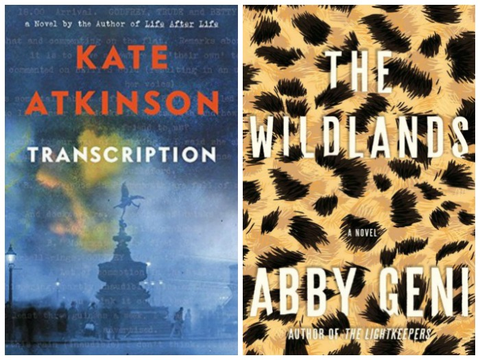 Novel Visits' My Week in Books for 9/17/18: Last Week's Reads - Transcription by Kate Atkinson and The Wildlands by Abby Geni