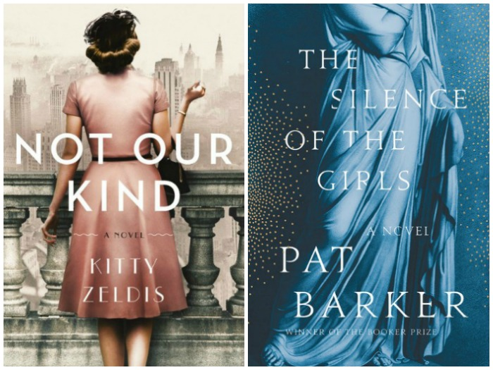 Novel Visits' My Week in Books for 9/3/18: Last Week's Reads - Not Our Kind by Kitty Zeldis and The Silence of the Girls by Pat Barker