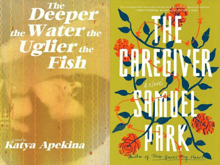Novel Visits' My Week in Books for 9/10/18: Likely to Read Next - The Deeper the Water the Uglier the Fish by Katya Apekina and The Caregiver by Samuel Park