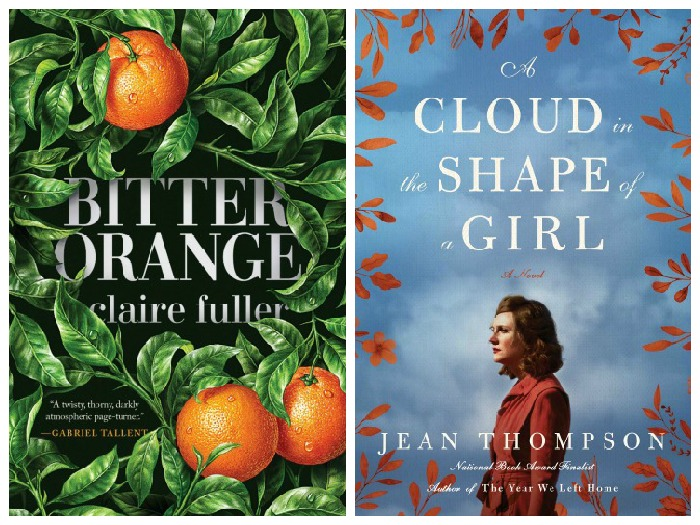Novel Visits' My Week in Books for 9/24/18: Likely to Read Next - Bitter Orange by Claire Fuller and A Cloud in the Shape of a Girl by Jean Thompson