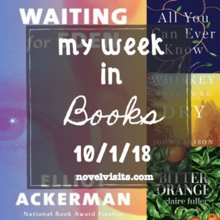 Novel Visits' My Week in Books for 10/1/18