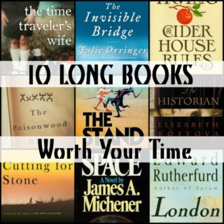 Novel Visits' 10 LONG BOOKS Worth Your Time