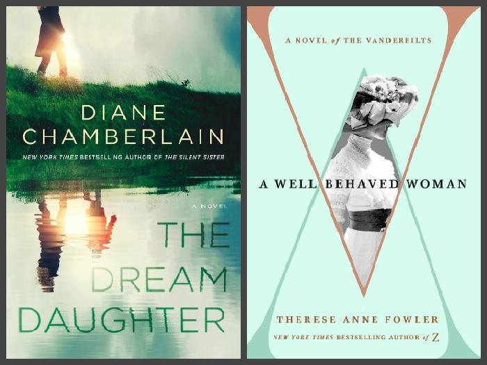 Novel Visits ~ My Week in Books for 10/15/18: Currently Reading - The Dream Daughter by Diane Chamberlain and A Well-Behaved Woman by Therese Anne Fowler