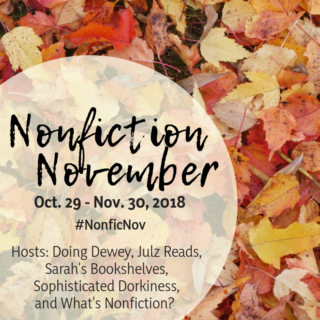 Nonfiction November 2018