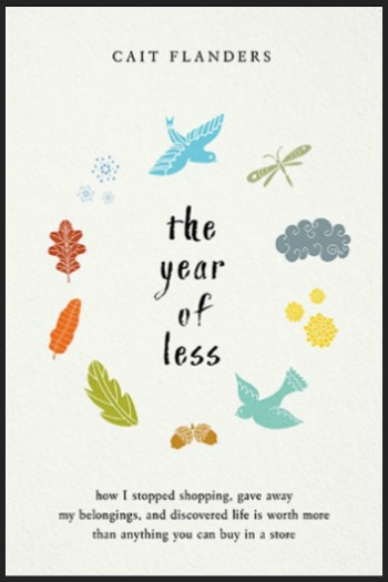 Novel Visits' My Week in Books for 11/12/18: last Week's Read - The Year of Less by Cait Flanders