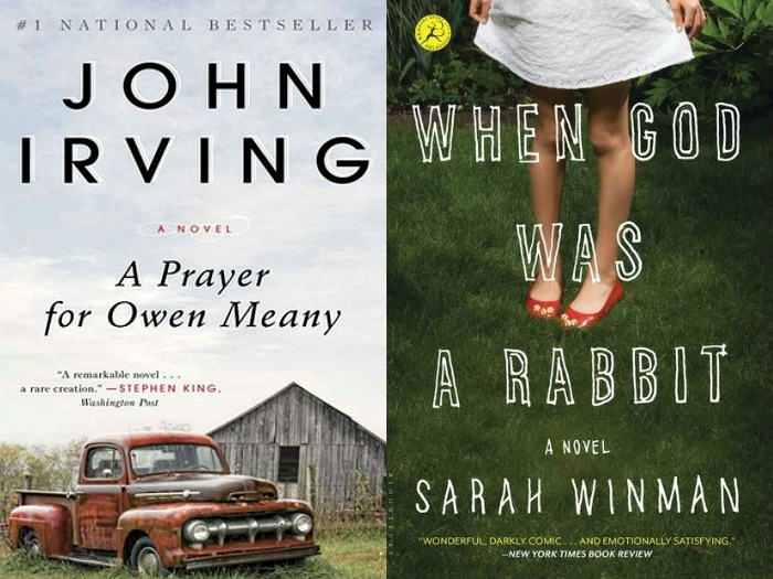 Novel Visits' My Week in Books for 11/26/18: Last Week's DNF's - A Prayer for Owen Meany by John Irving and When God Was a Rabbit by Sarah Winman