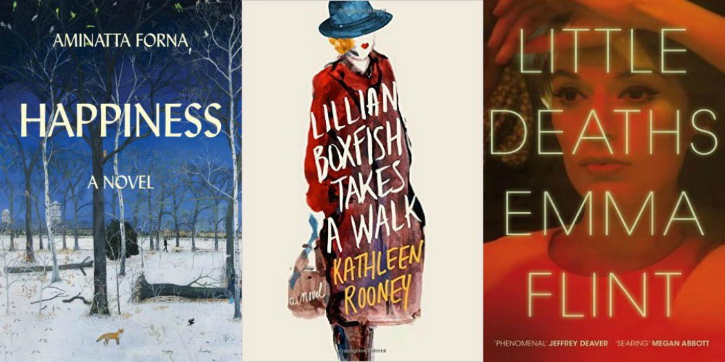 Novel Visits' My Week in Books for 11/26/18: Likely to Read Next - Happiness by Aminatta Forna, Lillian Boxfish TAkes a Walk by Kathleen Rooney and Little Deaths by Emma Flint