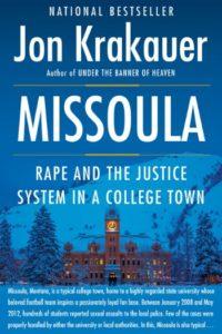 Novel Visits' Nonfiction November Mini-Reviews - Missoula by Jon Krakauer