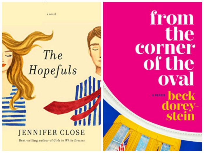 Novel Visits' Nonfiction November - Pairing Fiction with Nonfiction: The Obama Years - The Hopefuls by Jennifer Close and From the Corner of the Oval by Beck Dorey-Stein