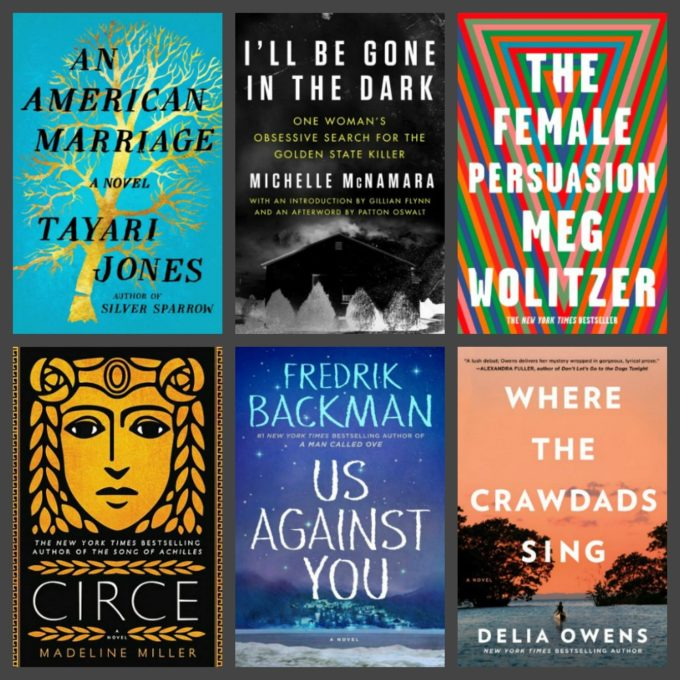Novel Visits' Six 2018 Books That Deserved Their Hype, plus Six That Didn't - The Six That Did