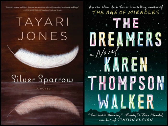 Novel Visits' My Week in Books for 12/24/18: Currently Reading - Silver Sparrow by Tayari Jones and The Dreamers by Karen Thompson Walker