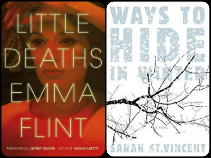 Novel Visits' My Week in Books for 12/3/18: Currently Reading - Little Deaths by Emma Flint and Ways to Hide in Winter by Sarah St. Vincent