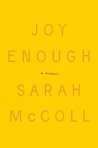 Novel Visits Winter Preview 2019 - Joy Enough by Sara McColl