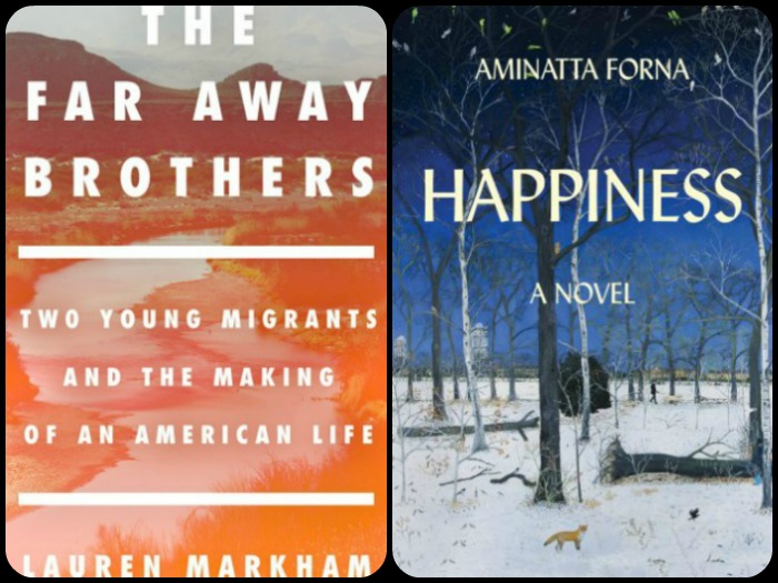 Novel Visits' My Week in Books for 12/3/18: Likely to Read Next - The Far Away Brothers by Lauren Markham and Happiness by Aminatta Forna