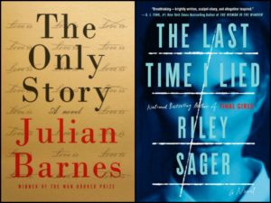 Novel Visits' New-to-Me Authors for 2018: One and Done Authors - Julian Barnes with The Only Story and Riley Sager with The Last Time I Lied