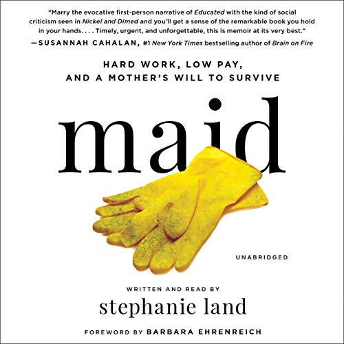 Novel Visits' Audiobook Review of Maid by Stephanie Land