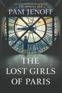 Novel Visits' Clearing the Shelves for February 2019, Mini-Reviews of The Lost Girls of Paris by Pam Jenoff