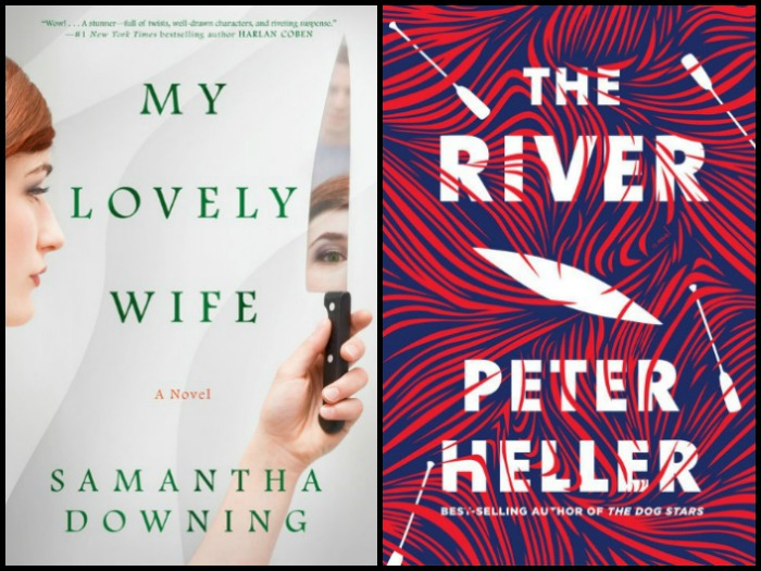 Novel Visits' My Week in Books for 3/11/19: Currently Reading - My Lovely Wife by Samantha Downing and The River by Peter Heller