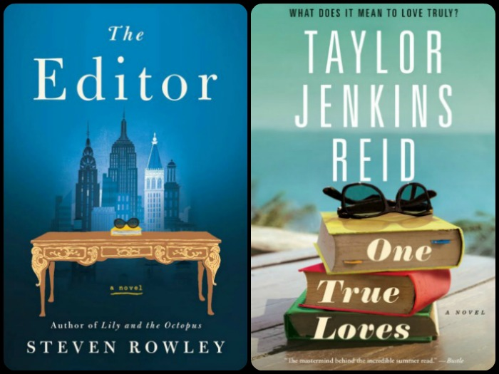 Novel Visits' My Week in Books for 3/18/19: Currently Reading - The Editor by Steven Rowley and One True Loves by Taylor Jenkins Reid