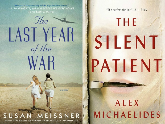 Novel Visits' My Week in Books for 3/4/19: Currently Reading - The Last Year of the War by Susan Meissner and The Silent Patient by Alex Michaelides