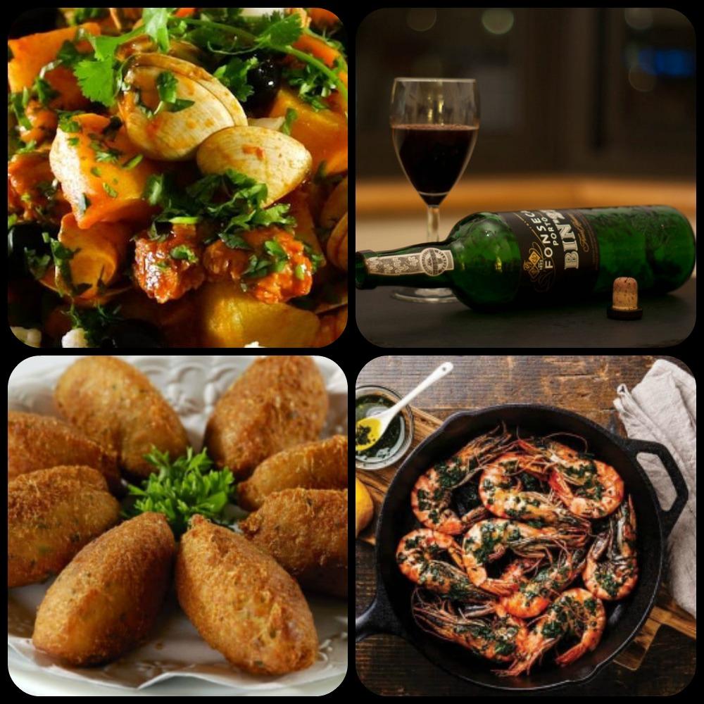 Novel Visits - Foods of Portugal