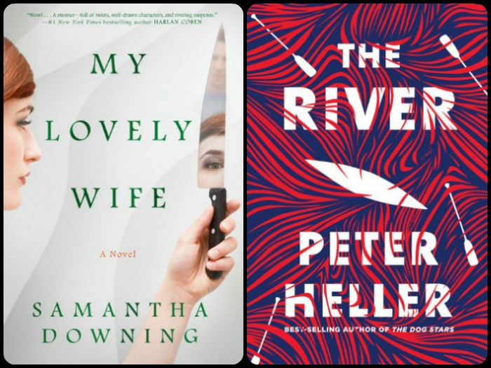 Novel Visits' My Week in Books for 3/18/19: Last Week's Reads - My Lovely Wife by Samantha Downing and The River by Peter Heller
