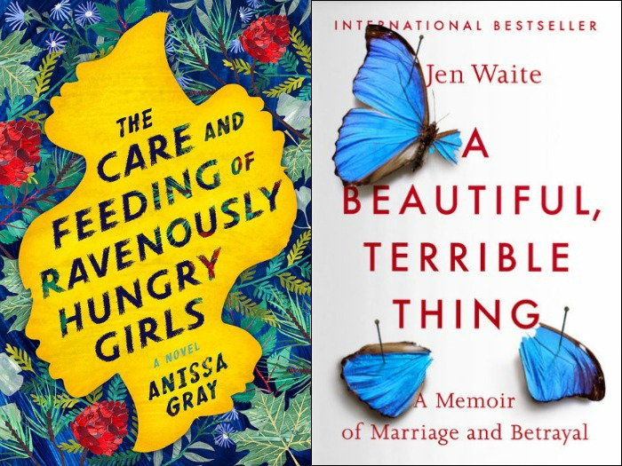 Novel Visits' My Week in Books for 3/4/19: Last Week's Reads - The Care and Feeding of Ravenously Hungry Girls by Anissa Gray and A Beautiful, Terrible Thing by Jen Waite