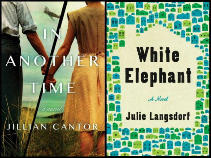 Novel Visits' My Week in Books for 3/11/19: Likely to Read Next - In another Time by Jillian Cantor and White Elephant by Julie Langsdorf