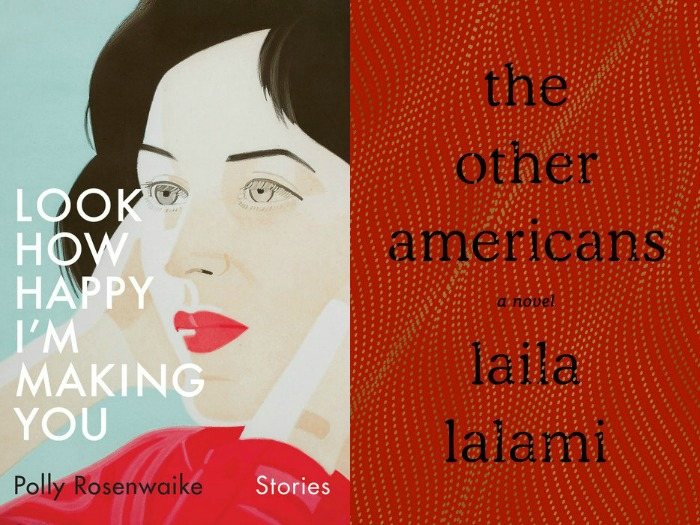 Novel Visits' My Week in Books for 4/8/19: Currently Reading - Look How Happy I'm Making You by Polly Rosenwaike and The Other Americans by Laila Lalami