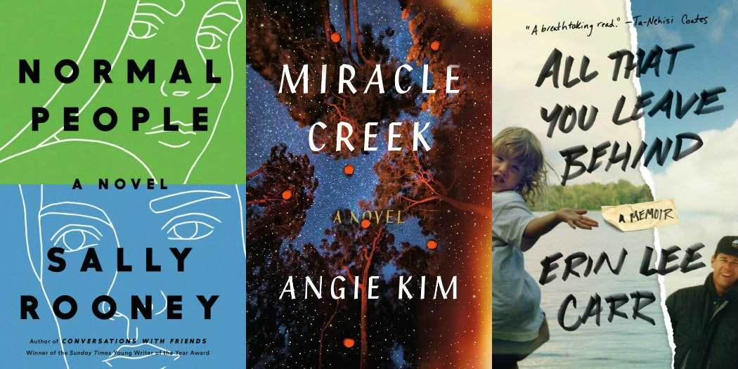 Novel Visits' My Week in Books for 4/22/19: Last Week's Reads - Normal People by Sally Rooney, Miracle Creek by Angie Kim and All That You Leave Behind by Erin Lee Carr