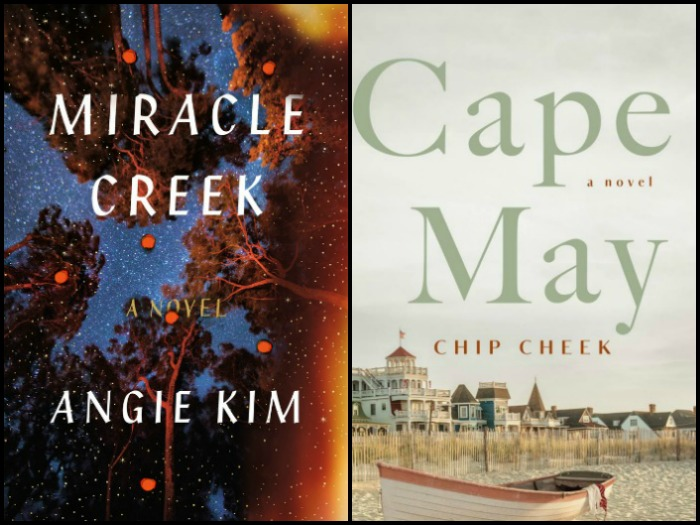 My Week in Books for 4/15/19: Likely to Read Next - Miracle Creek by Angie Kim and Cape May by Chip Creek