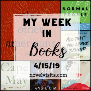 My Week in Books for 4/15/19