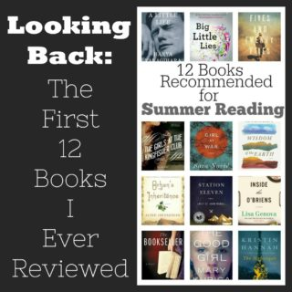 Novel Visits: The First 12 Books I Ever Reviewed, Recreated from the original post on Recipe Girl.