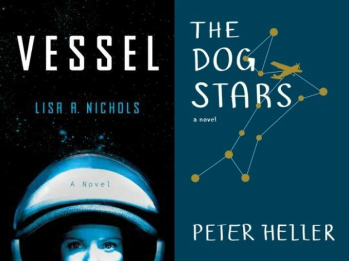 Novel Visits' My Week in Books for 5/13/19: Currently Reading - Vessel by Lisa A. Nichols and The Dog Stars by Peter Heller