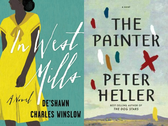 Novel Visits' My Week in Books for 5/20/19: Currently Reading - In West Mills by De'Shawn Charles Winslow and The Painter by Peter Heller