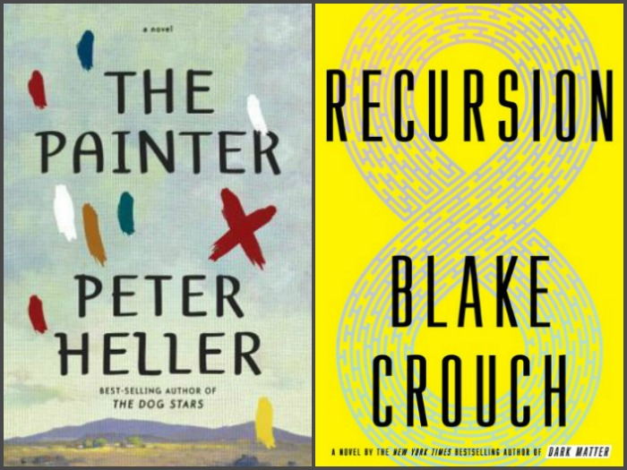 Novel Visits' My Week in Books: Currently Reading - The Painter by Peter Heller and Recursion by Blake Crouch
