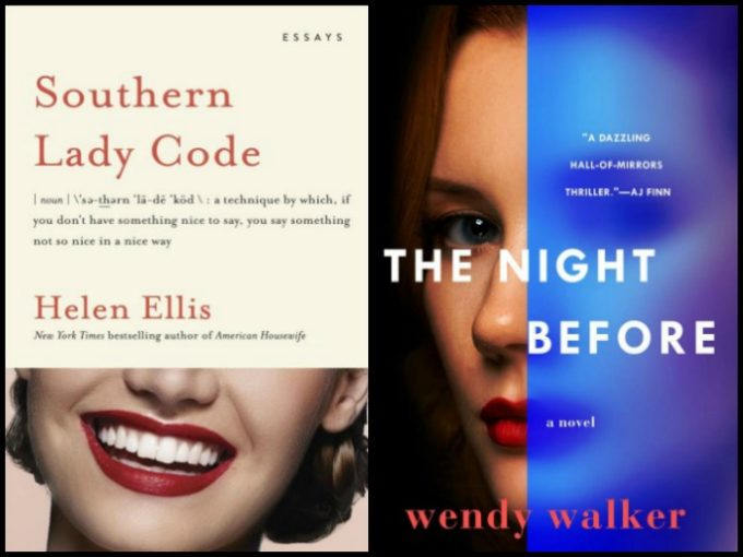 Novel Visits' My Week in Books for 5/13/19: Last Week's Reads - Southern Lady Code by Helen Ellis and The Night Before by Wendy Walker